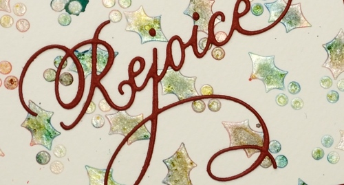 rejoice holly closeup Heather Telford