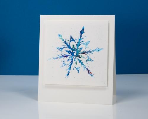 powdered snowflake Heather Telford