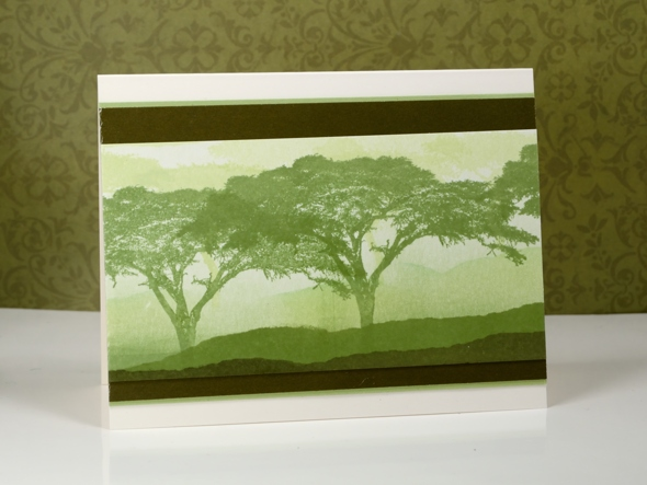 brayered background &  trees Heather Telford