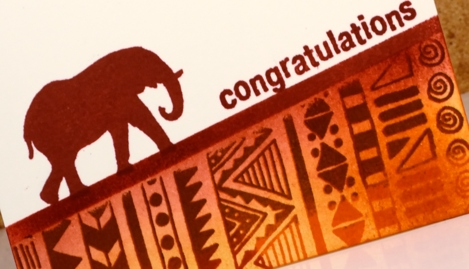 elephant congrats Heather Telford