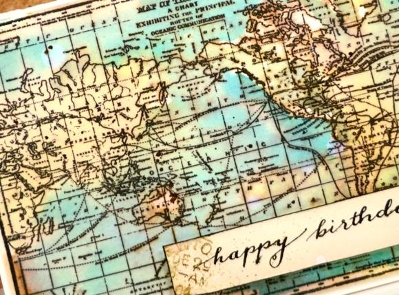 world map close up Heather Telford