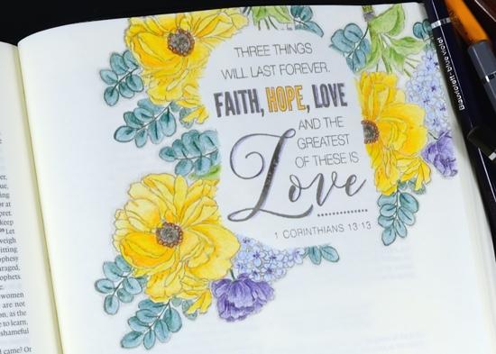 bible journal Heather Telford